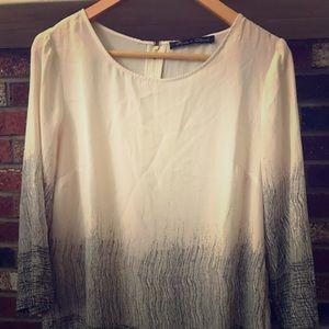EUC cream blouse Large